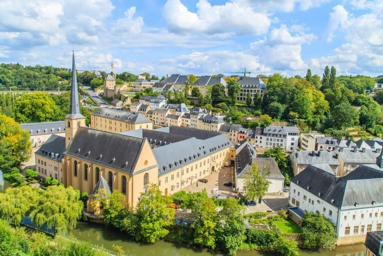 Tag en dagstur til Luxembourg by