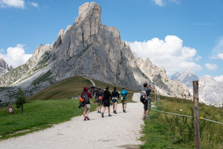 Vandreferie i Dolomitterne