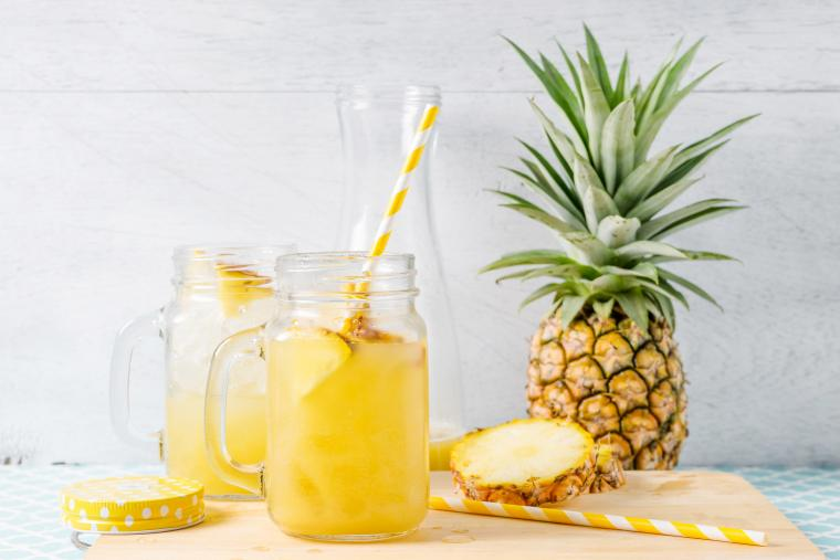 Sommerdrinks - Pineappel Fizz